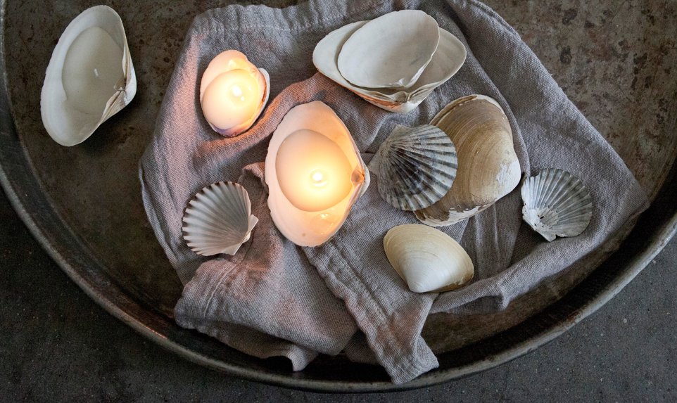 Shell Candles: A how to guide