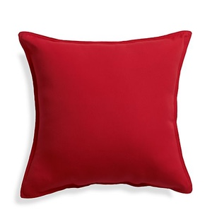 Crate & Barrel Red Outdoor Pillow