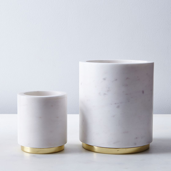 Marble & Metal Canisters
