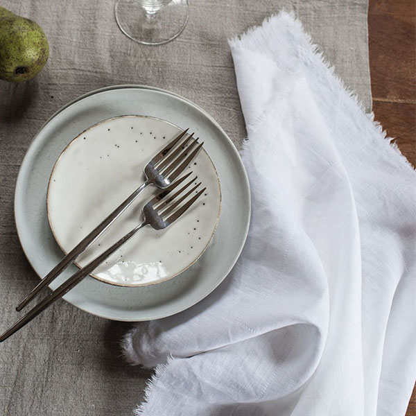 Rough Linen Raw Edge Napkin