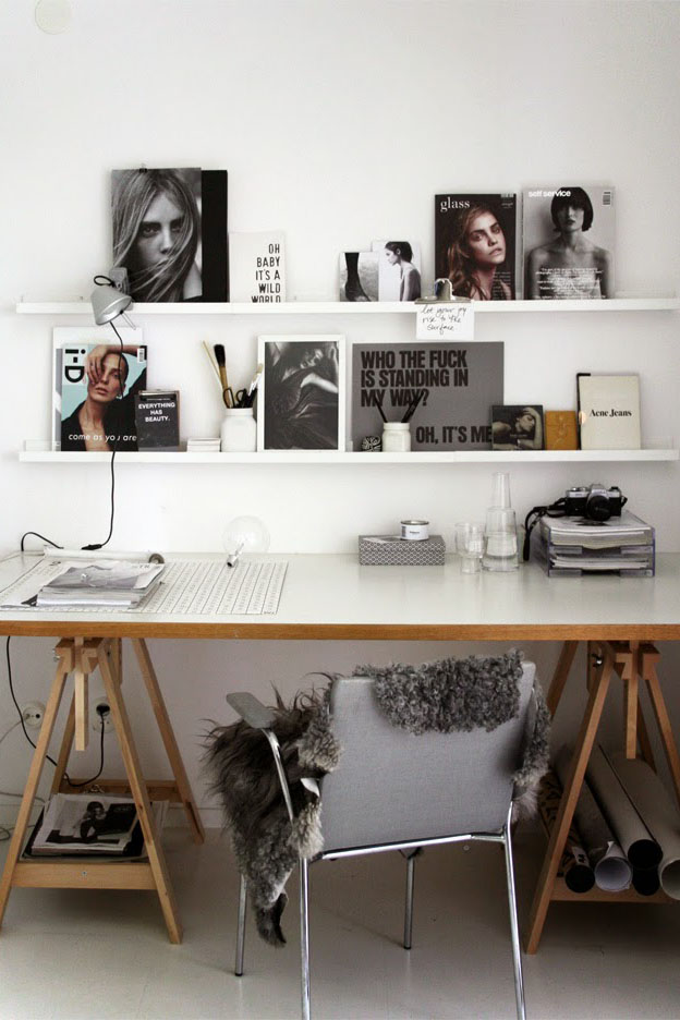 4 Workspace Trends to Inspire Creativity | Sheepskin as Cushion | EyeSwoon