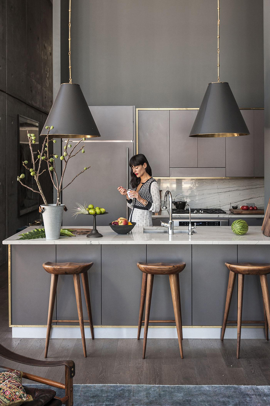 Heart of the Home: Kitchen Townhouse | Dumbo Kitchen on EyeSwoon