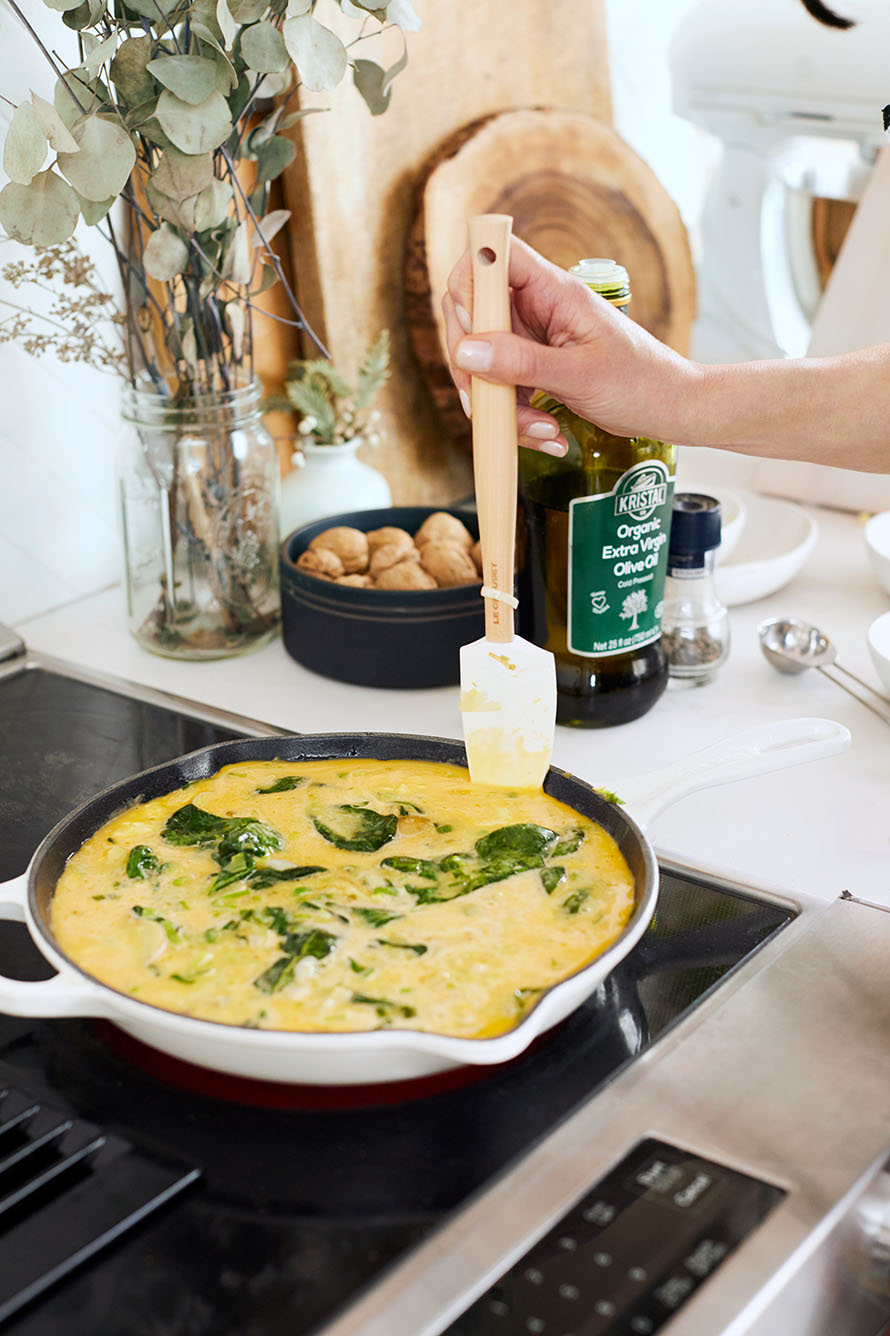 Athena Calderone | Spring Frittata via Cook Beautiful
