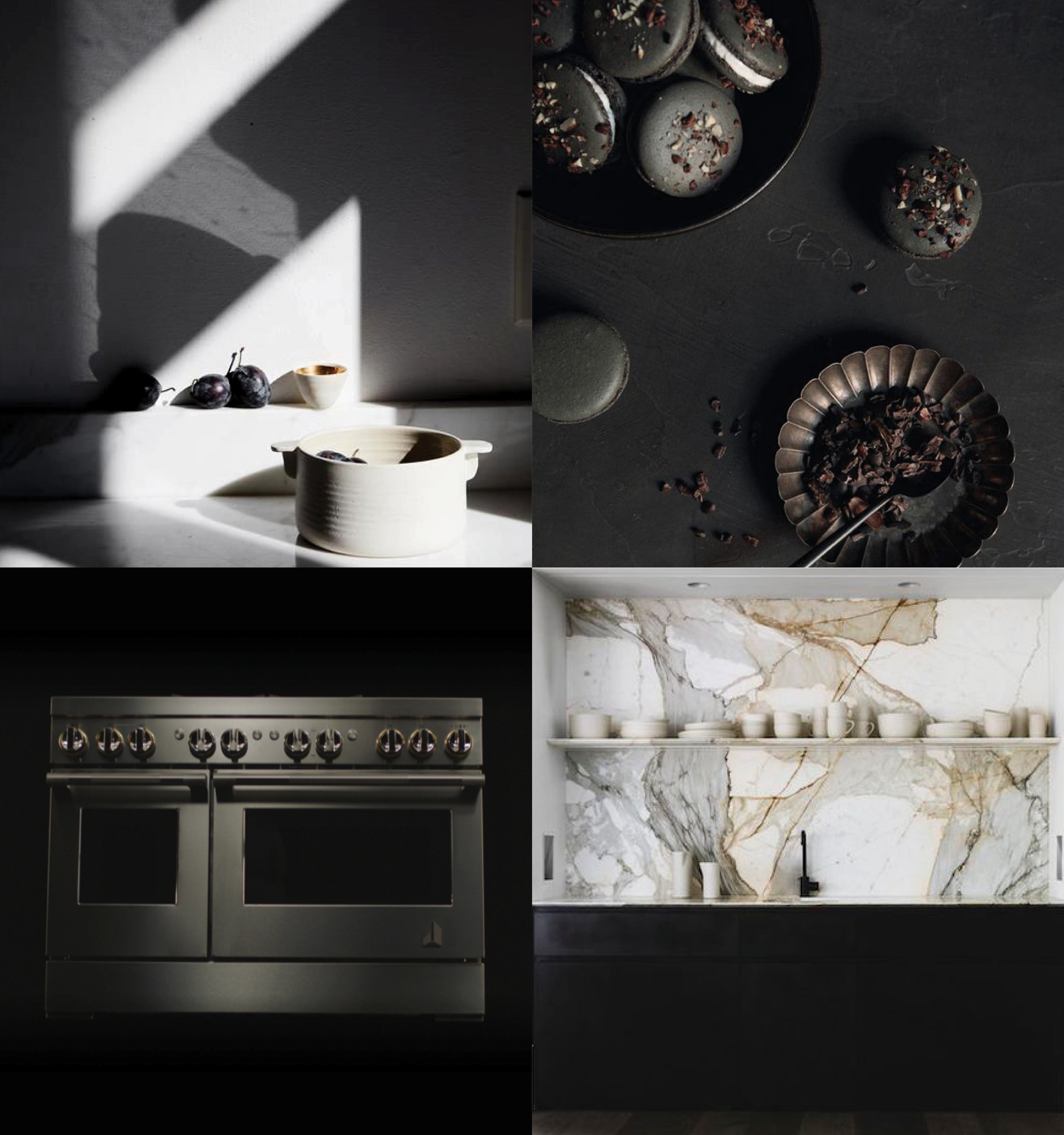 Dark and Stormy Kitchens