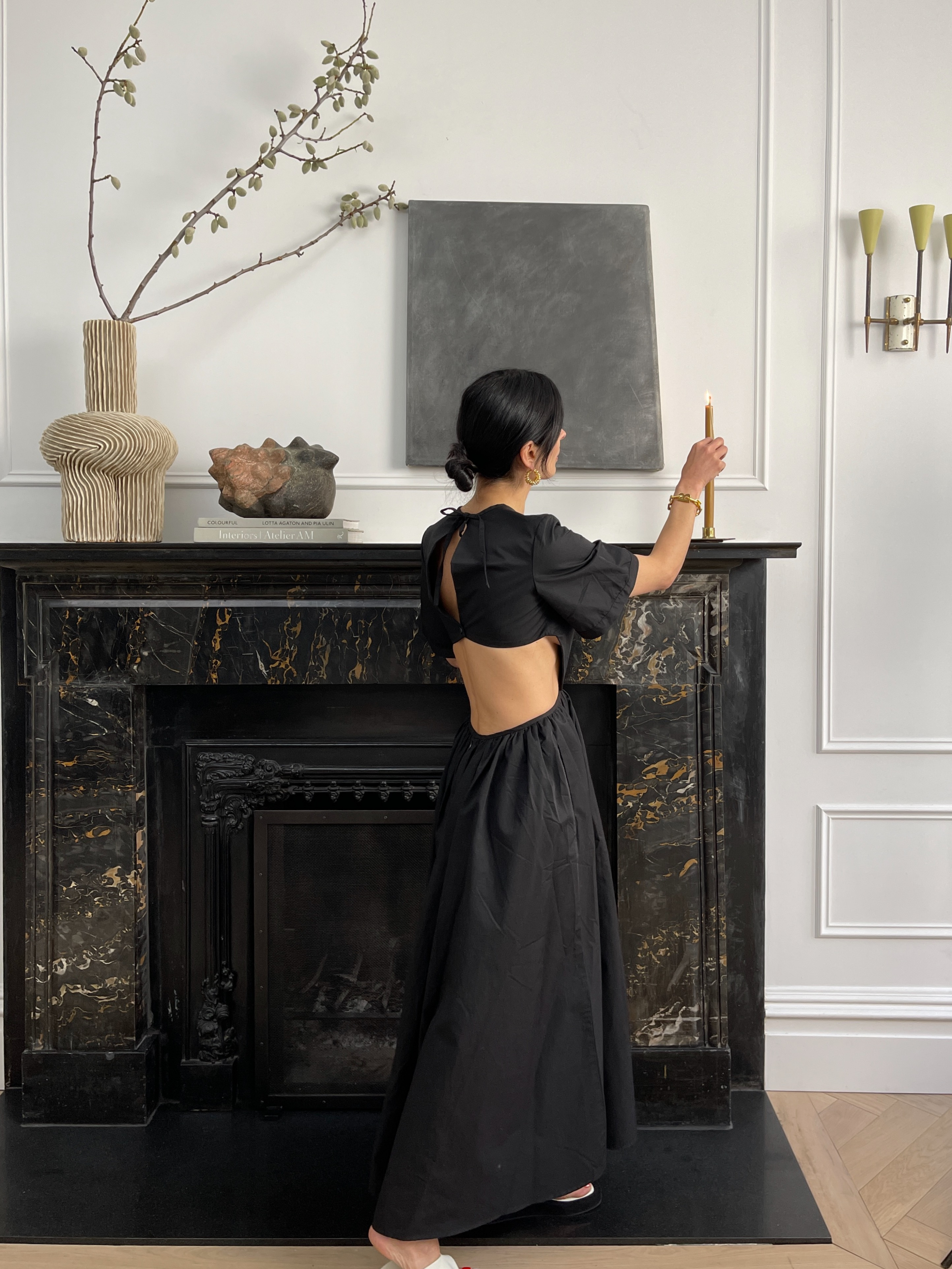 How to Style a Mantel