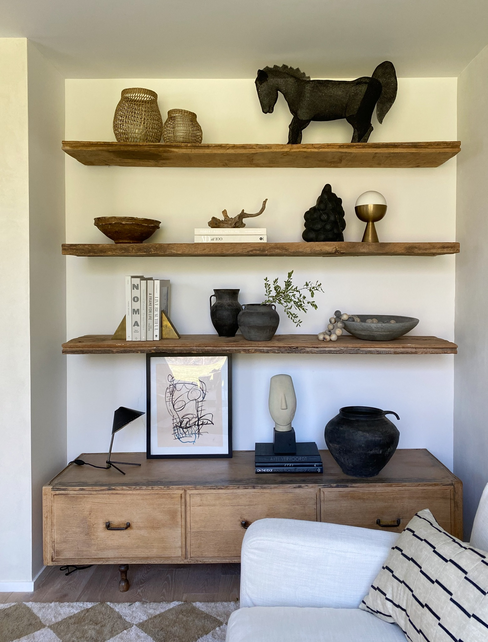 Stay Home, Stay Inspired — Shelf Styling 101