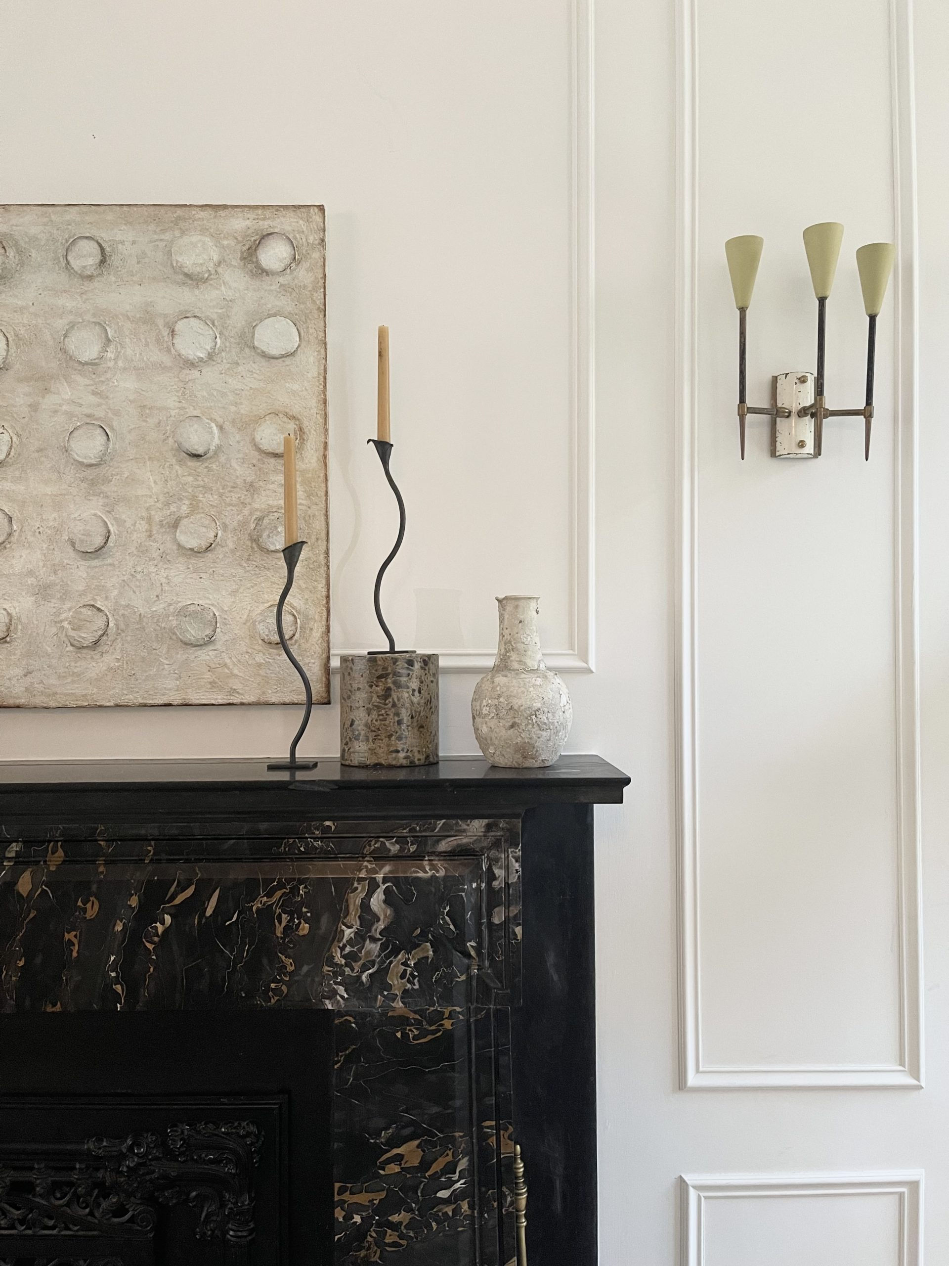 Wrought-Iron Candle Holders Bring a Hint of the Old World Home