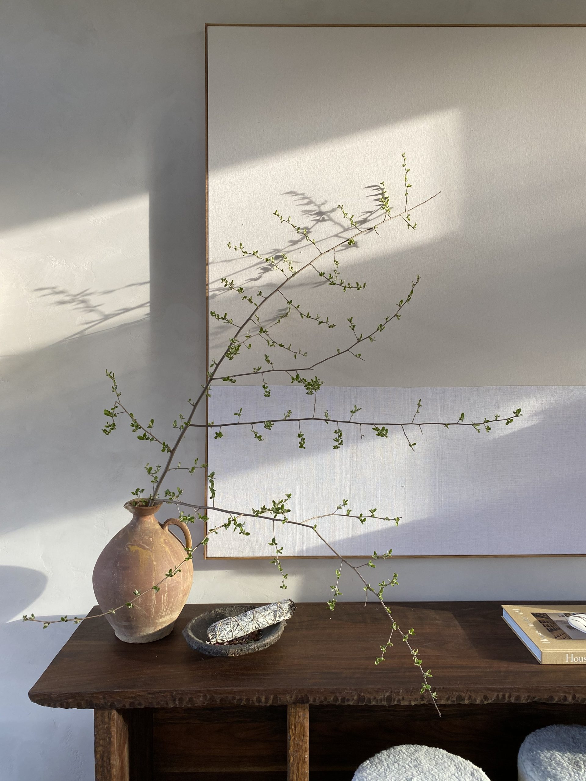 Foraging in Nature: How to Style Decorative Branches