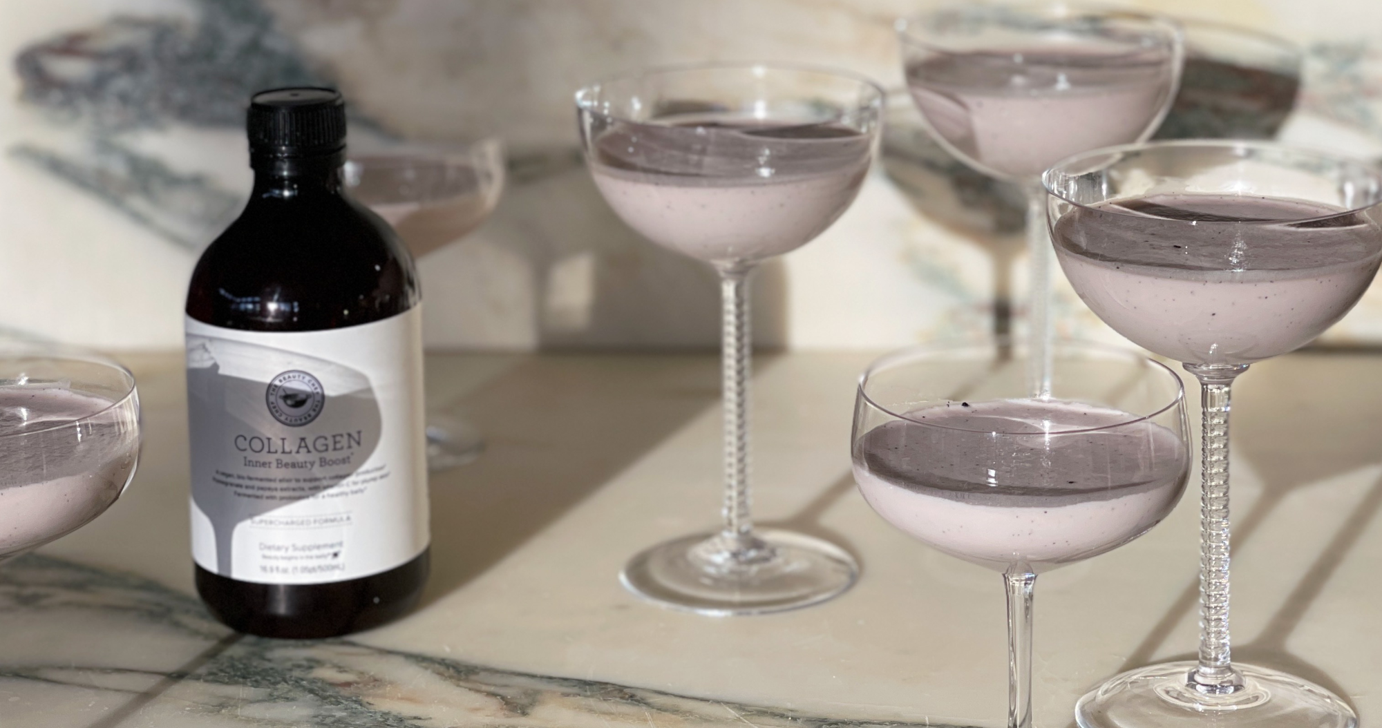 Coconut Panna Cotta with COLLAGEN Inner Beauty Boost