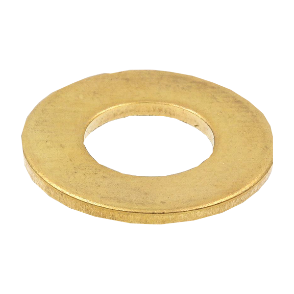 O.D. SAE Solid Brass Flat Washers