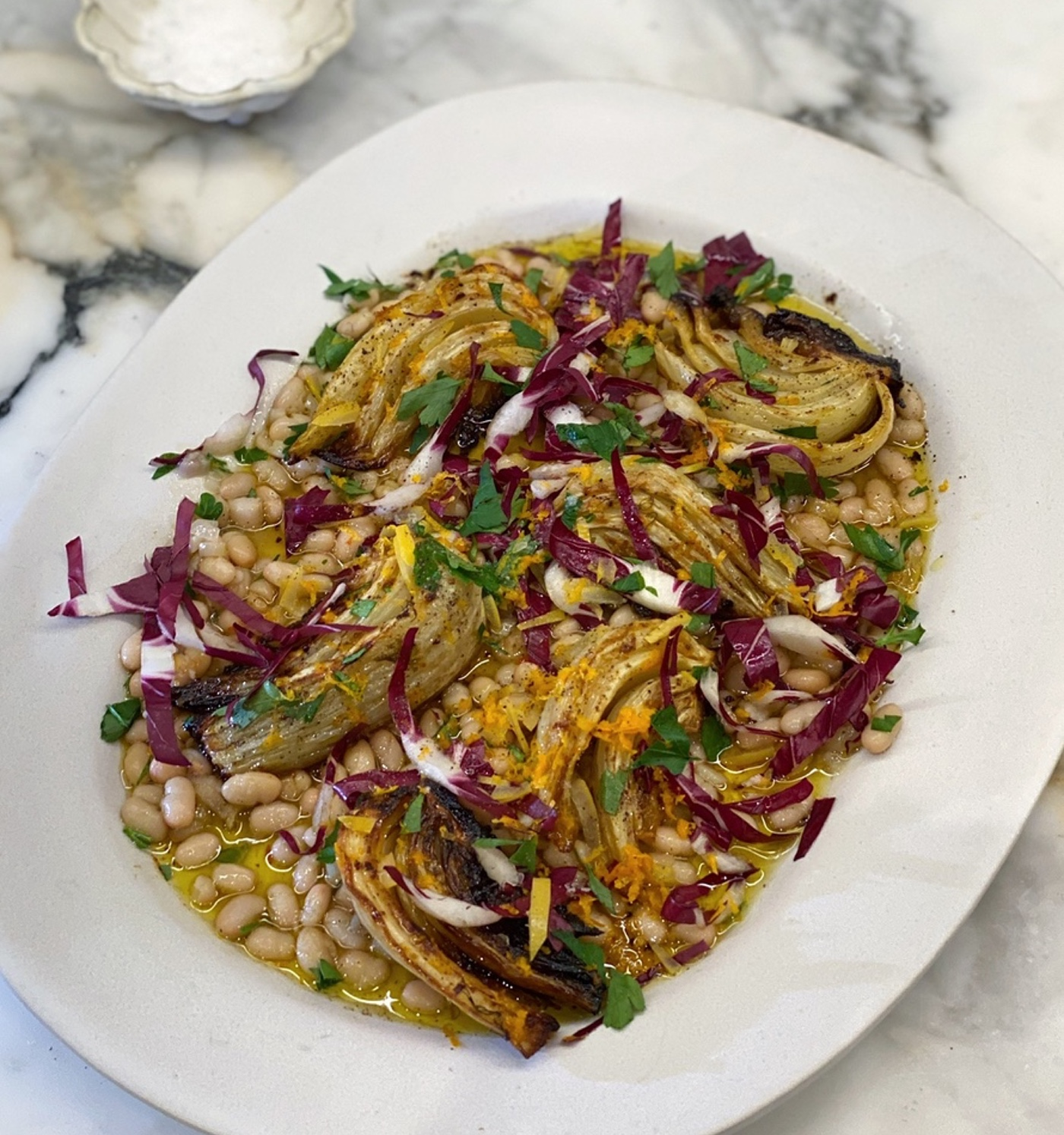 EyeSwoon Unplugged | White Beans & Citrus Roasted Fennel
