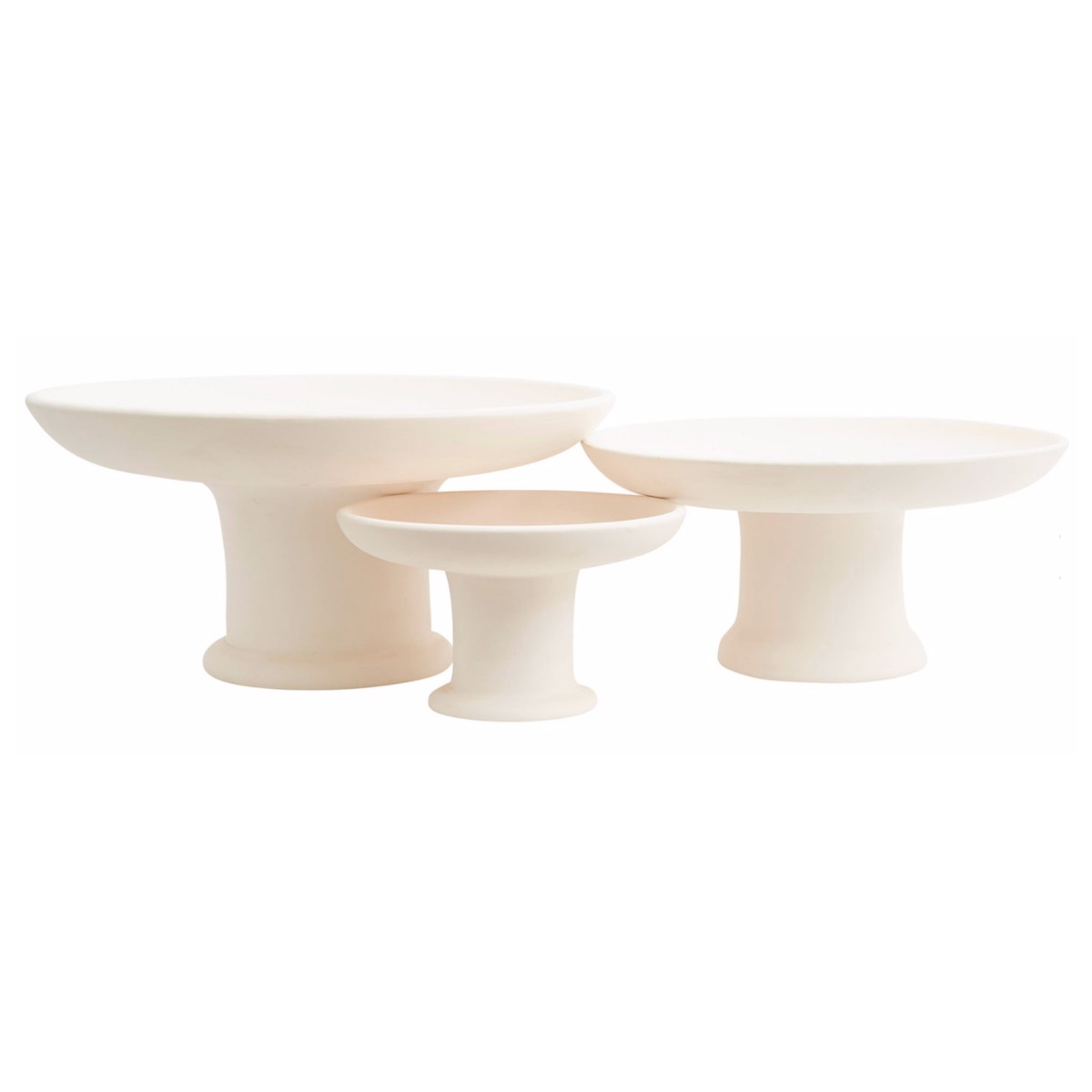 Beldi Footed Plates