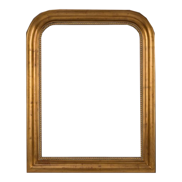 Mason Wall Mirror in Antiqued Gold
