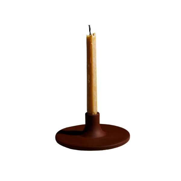 The Floral Society Ceramic Taper Candleholder