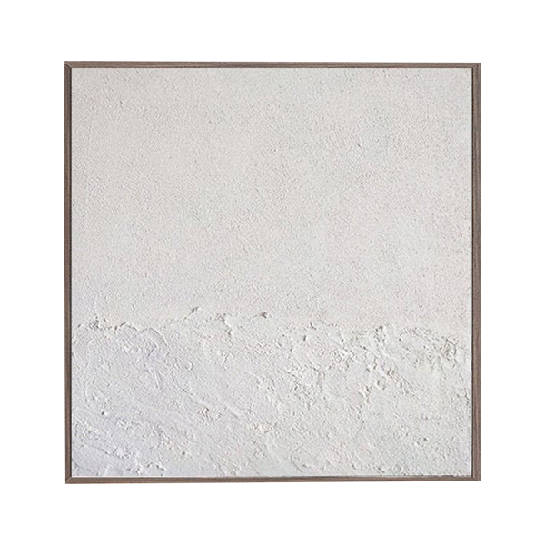 Marble Wish Large Abstract White Painting